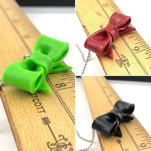 Bow Tie Necklaces