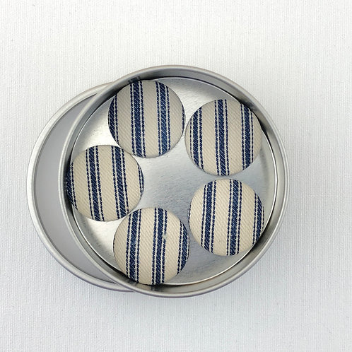 Super Magnets - Vintage Mattress Ticking