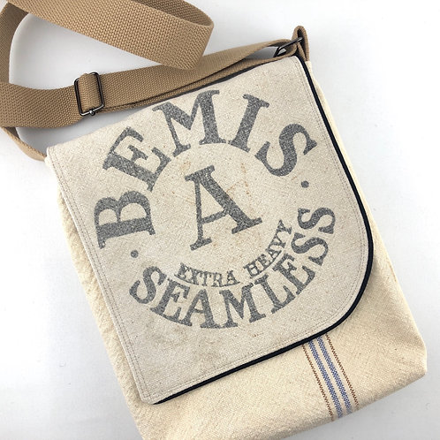 Messenger Bag - Bemis Grain Sack