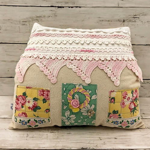 """Collage House Pillow - 11"""" x 9"""""""