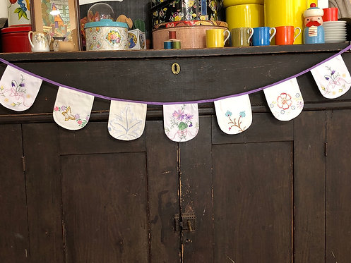 3' Banner - Vintage Embroidery