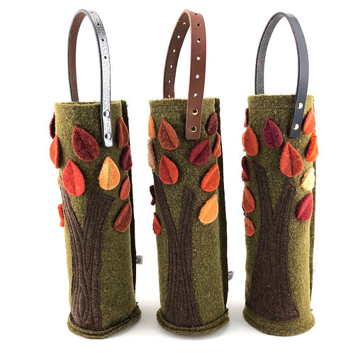 Wine Carrier - Autumn Trees
