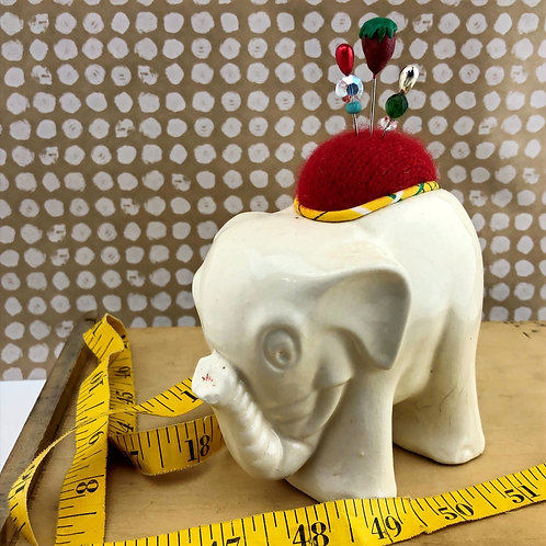 Pincushion - White Elephant