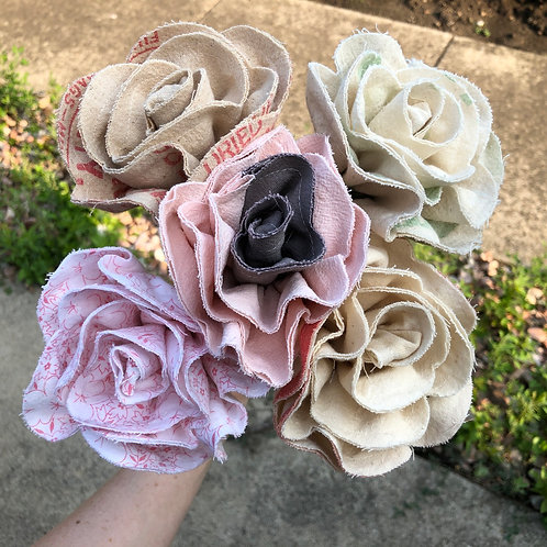 Roses -  Set of 5