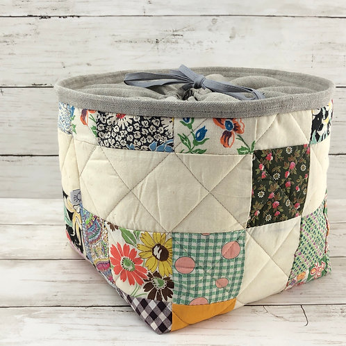 Drawstring Project Tote
