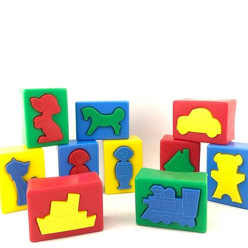 Vintage Plastic Puzzle