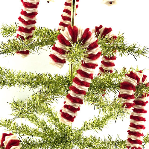 Candy Canes -  Red & White