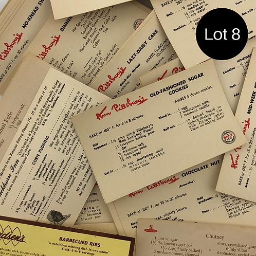"Vintage Recipe Cards 3""x5"""
