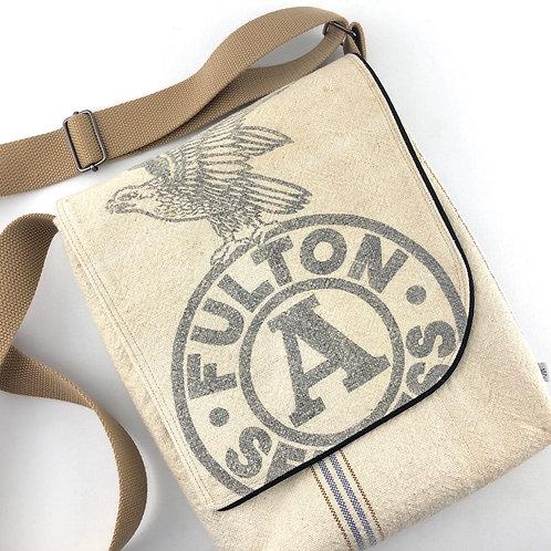 Messenger Bag - Fulton Grain Sack
