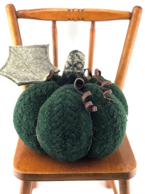 Large Pumpkin - Dark Green
