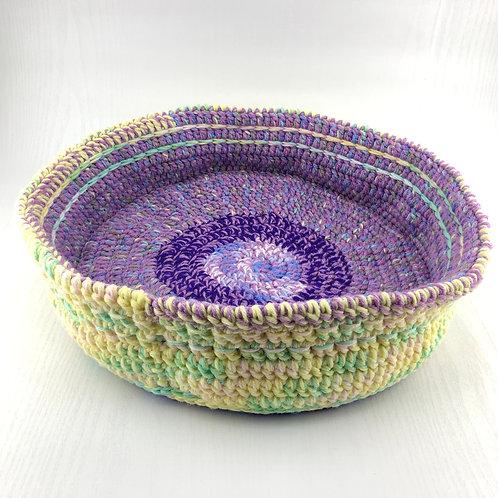 """""""Purple Pansies"""" Pet Bed"""