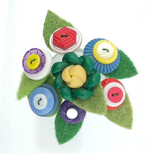 Button Blossoms - Rainbow