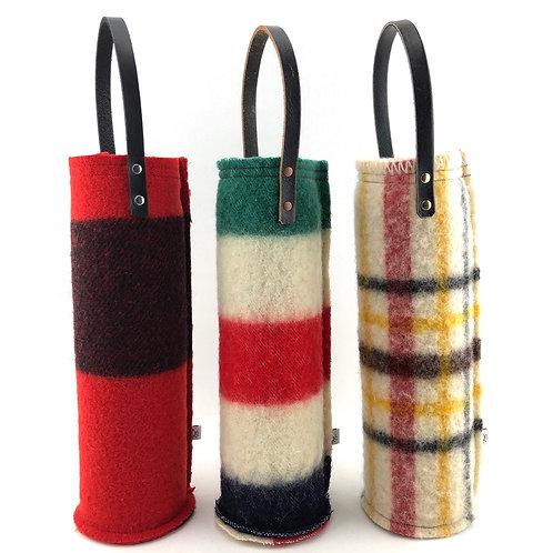 Wine Carrier - Wool Blankets
