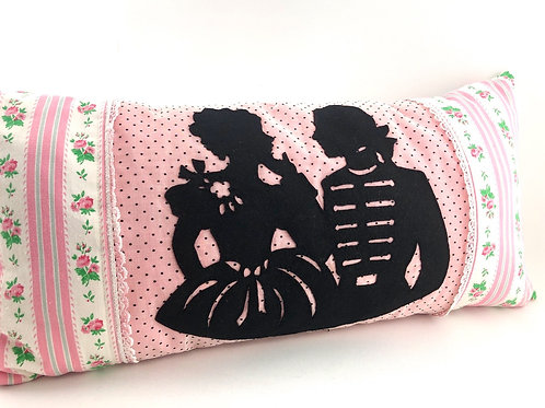 Vintage Silhouette Pillow