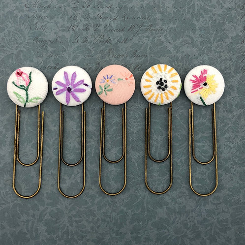 Vintage Embroidery Bookmarks
