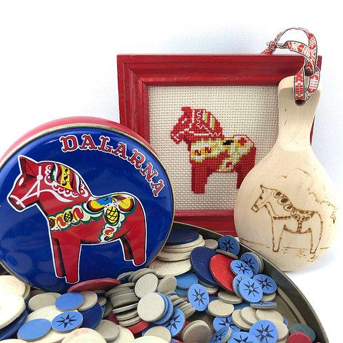 Dala Horse Decor $6-$12