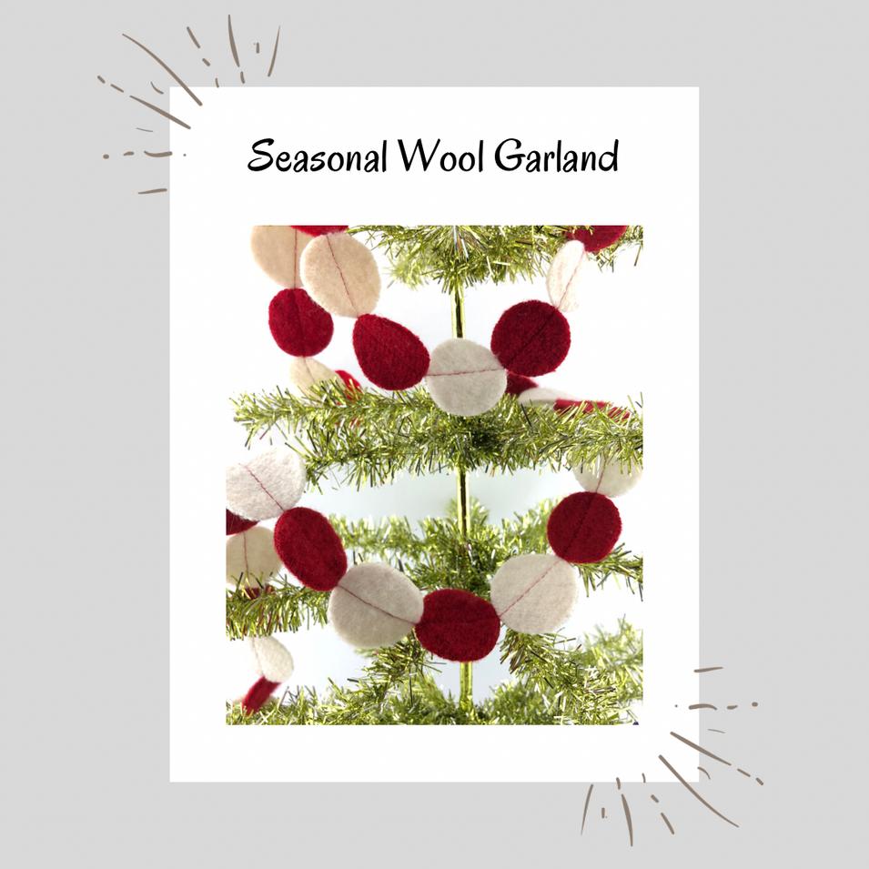 Seasonal Wool Garland
