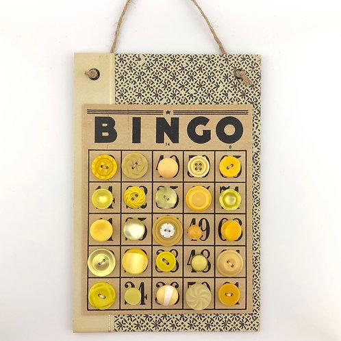 Button Art Card