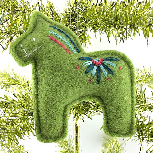 Dala Horse Ornament