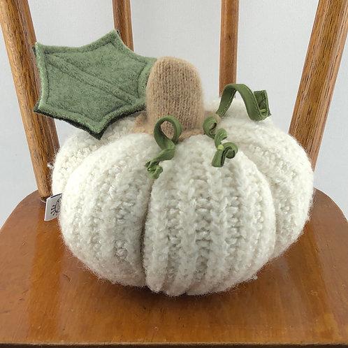 Small Pumpkin - White