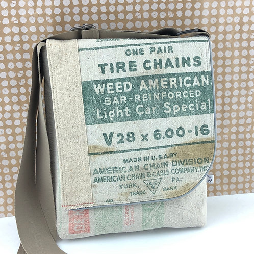 Messenger Bag - Weed American Tire Chains