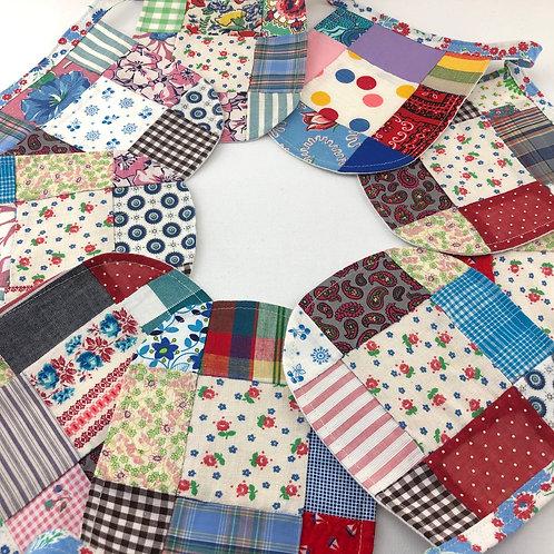 6' Banner  - Vintage Quilt