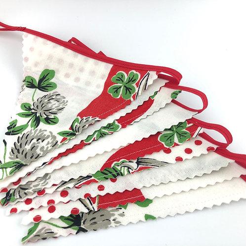 6' Banner  - Assorted Vintage Fabrics