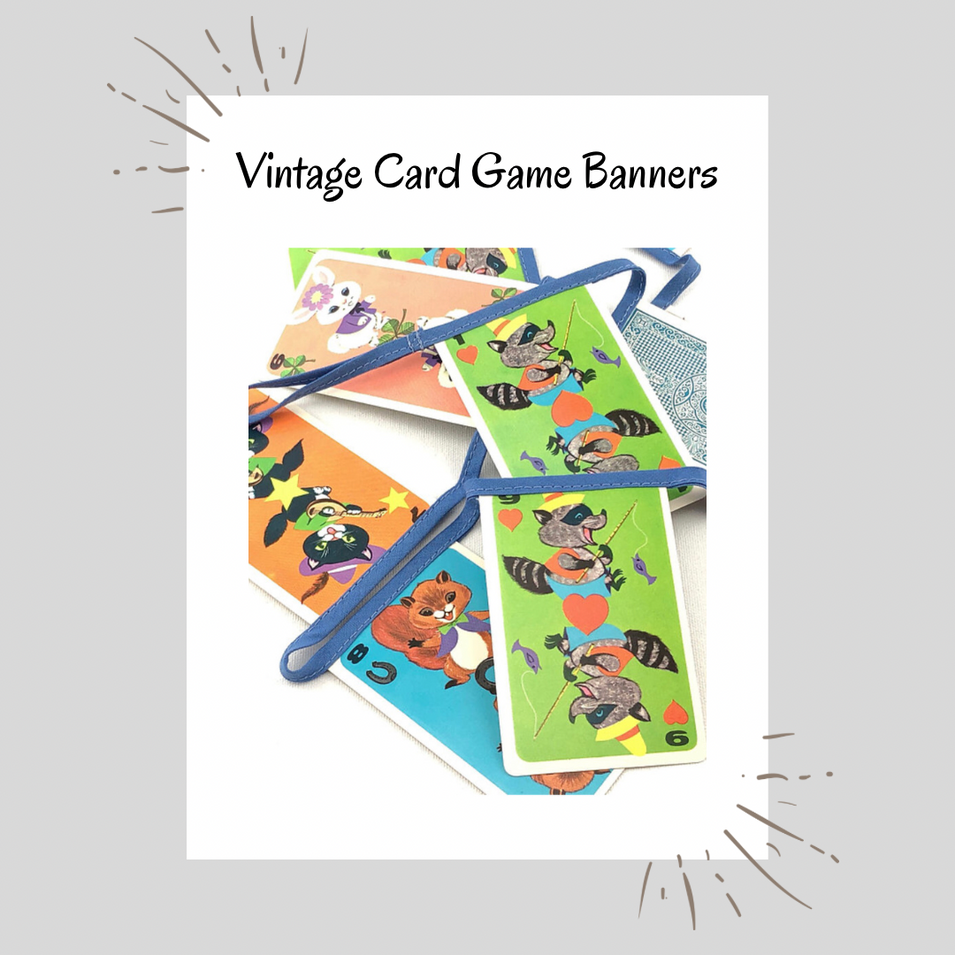 Vintage Card Game Banners