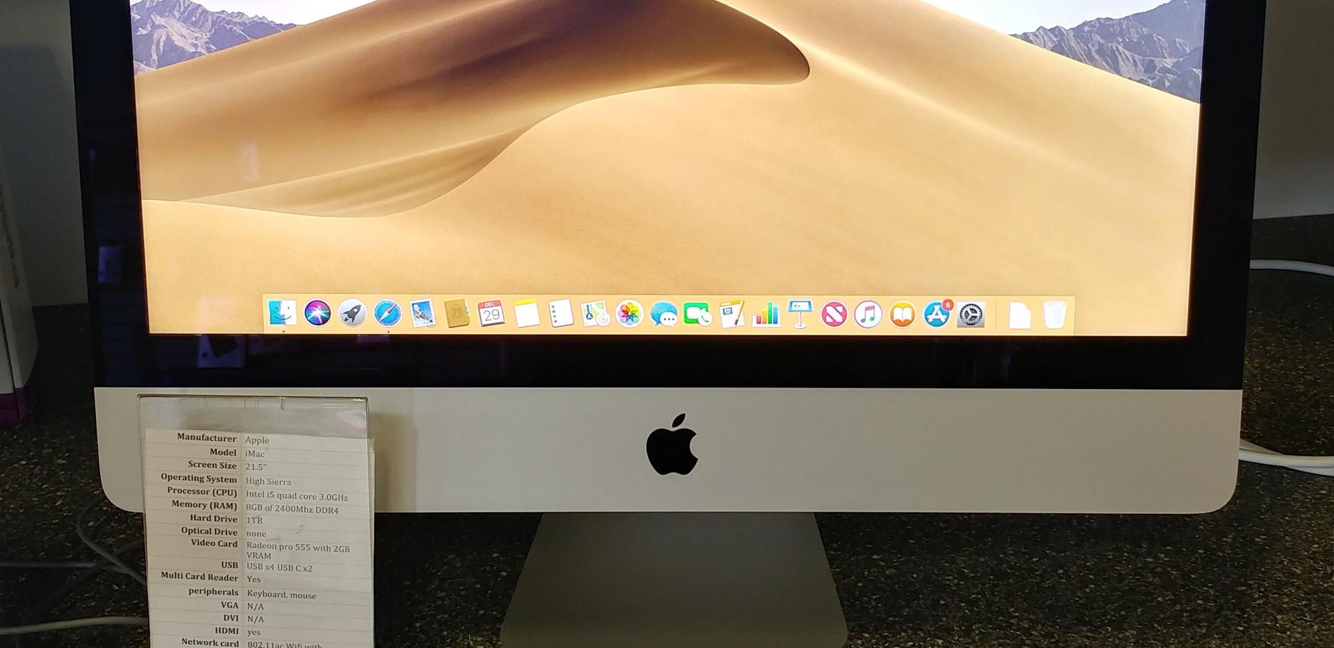 """iMac 21.5"""" (4K, Mid 2017)"""