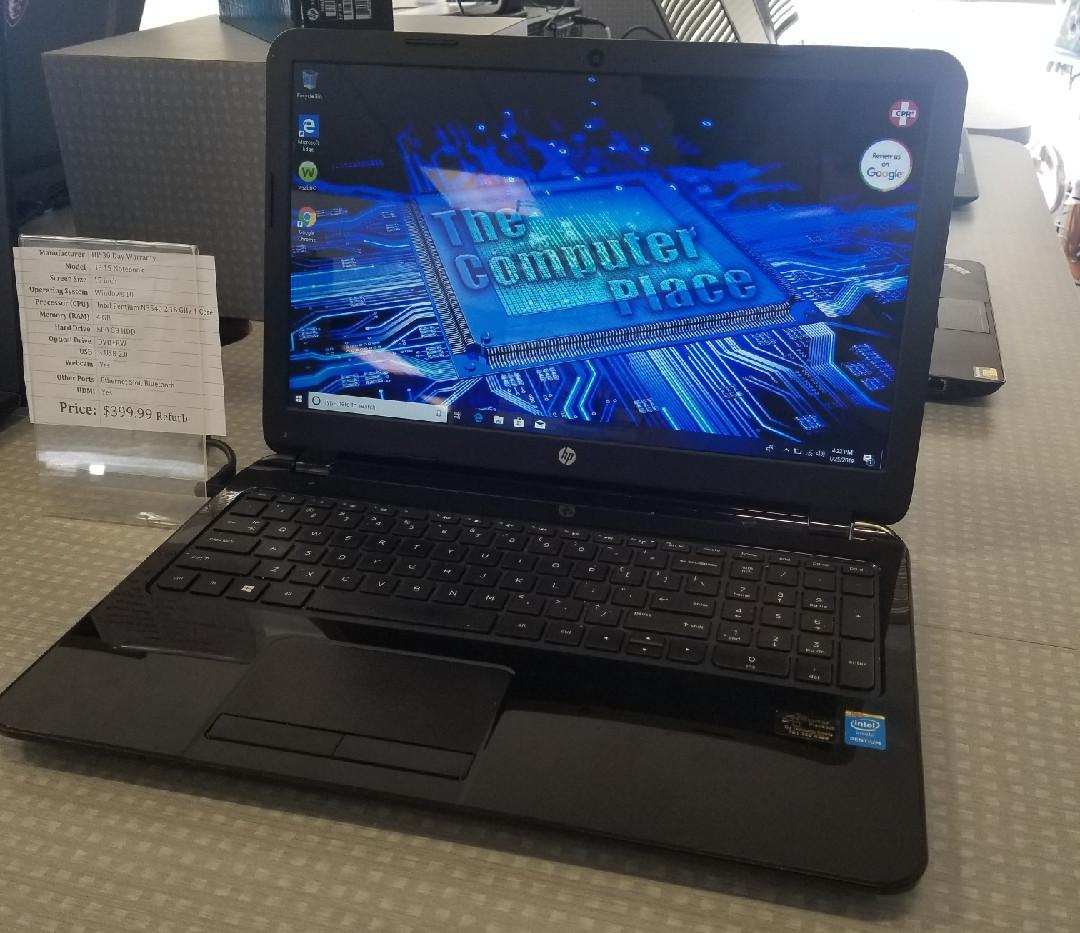 HP 15 Notebook $399.99 Refurb
