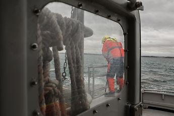 reportage / snsm / sauveteurs en mer / bretagne