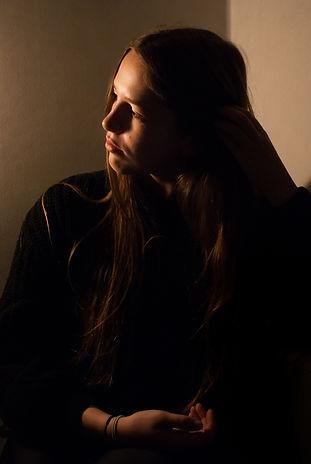 Portrait / clair obscur / contre-jour