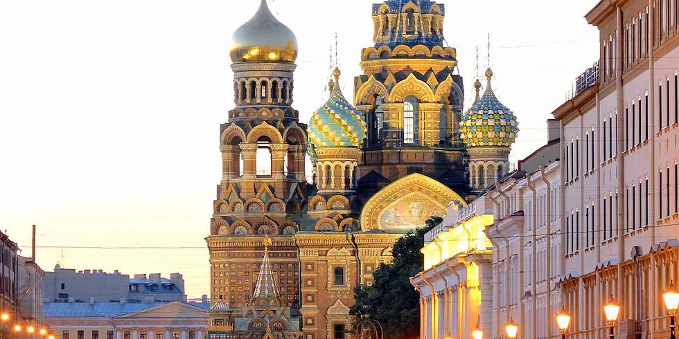 St Petersburg Trip