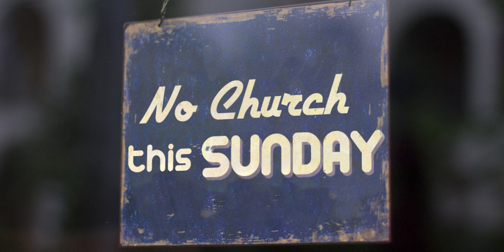 No Sunday Service