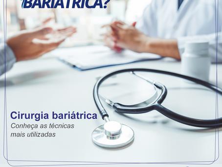 Conheça as Técnicas mais utilizadas em cirurgias bariátricas