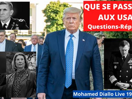 MDL REPORT-23: QUE SE PASSE-T-IL AUX USA? Vidéo Censurée (initialement) sur UTube-MohamedDiallo Live