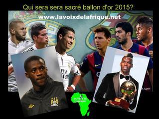 Les candidats pour le Ballon d'Or 2015 ont été annoncés.