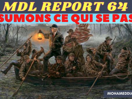 """MDL REPORT64-LE PEUPLE DIT NON ET LES IMPOSTEURS ESSAIENT D'INTIMIDER LES PLUS """"FRAGILES""""! RÉSUMONS."""