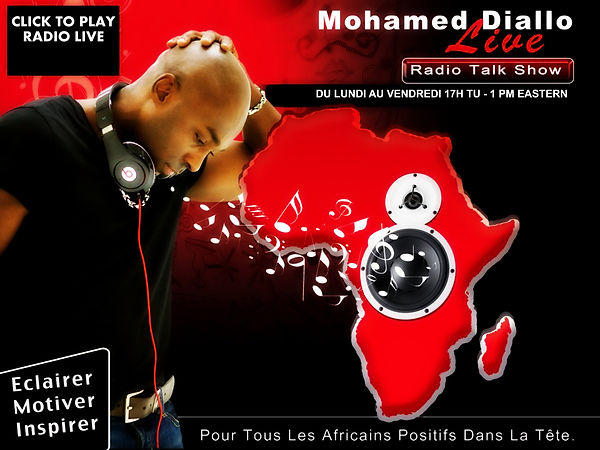 Mohamed Diallo Live Radio Show