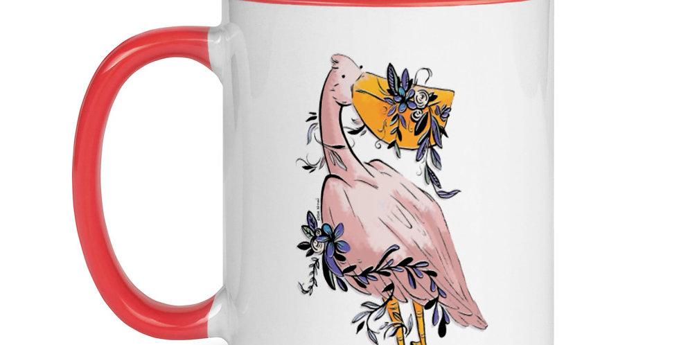 Florist Pelican mug