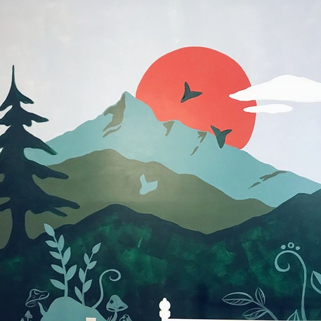 Enchanted Forest + Mountains