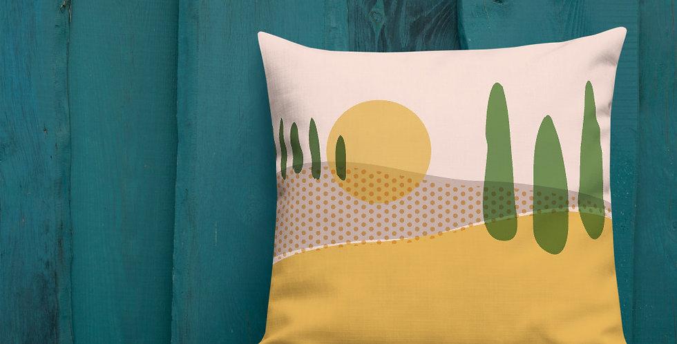 Tuscany Dreams - Premium Pillow