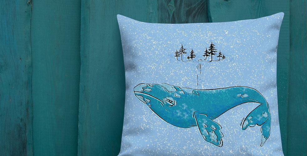 Whale Pillow Premium Pillow