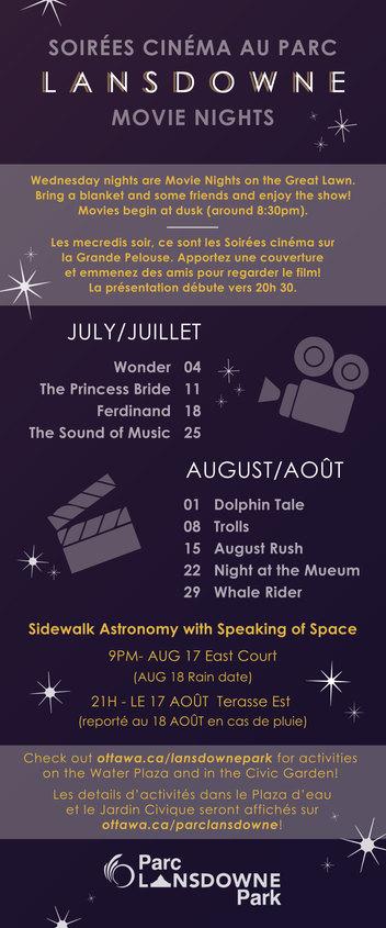 City of Ottawa - Summer Events at Lansdowne Park