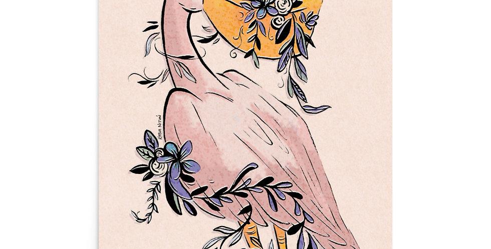 Pelican Florist Print