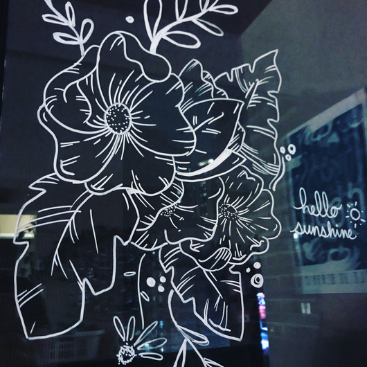 Floral Window Designs