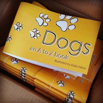 Dogs, an A-Z flipbook