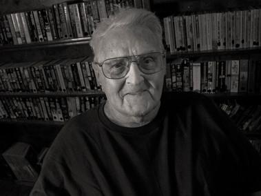 """Leonard """"Len"""" Brown, 90, U.S.Navy 1946 - 54."""
