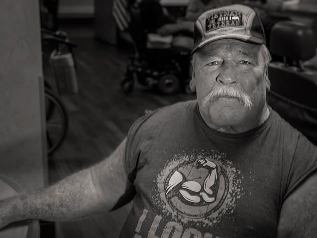 Howard White, 71, U.S. Army, 1967- 68.