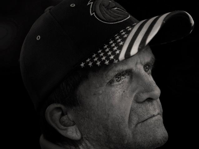 Mike Powell, 69, U.S. Coast Guard, 1971-75.